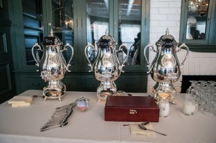 Coffee/Tea Service, Urns provided by All Season Party Rentsal