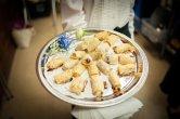 Raspberry, Brie & Almond Beggars Purses