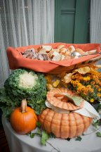 Harvest Themed Bistro Table