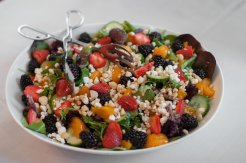 Organic and Seasonal Salads