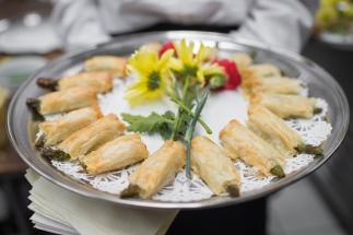 Crispy Asparagus & Asiago Bundles